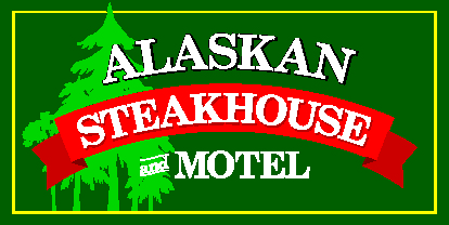 Alaskan Steakhouse & Motel Logo