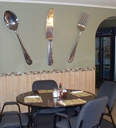 Restaurant with Fork
